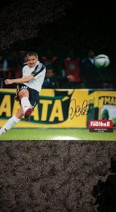 Foto (plakát) Sebastian Deisler (Německo) s podpisem - fotbal