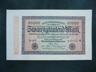 20000 Mark 1923  UNC