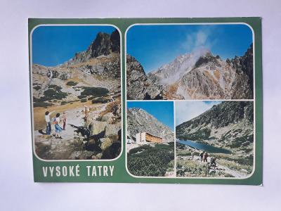 Vysoké Tatry- Velická dolina - pohlednice VF