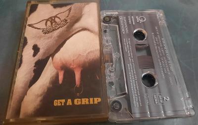 MC Aerosmith- Get a grip. Germany. Geffen.