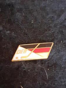 Odznak DEB  - Německo - lední hokej