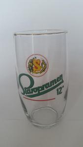 pivní sklenice pivovar Staropramen Praha