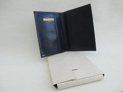 Kožená pánská peněženka ŠKODA EXPORT ČSSR v původní krabičce
