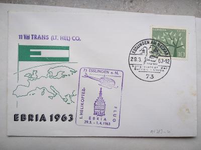 Poštovní obálka, známky