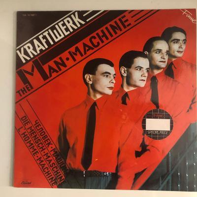 Kraftwerk – The Man Machine - LP vinyl