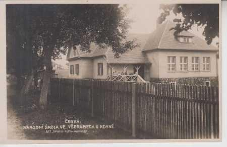 Všeruby, národní škola