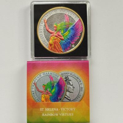 Stříbrná investiční mince 2021 St. Helena 1 Oz