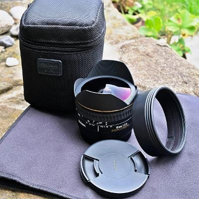 SIGMA 15 mm f2.8 EX DG FISHEYE pro Canon