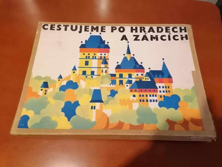 Stará hra - Cestujeme po hradech a zámcích - TOFA - Starožitnosti