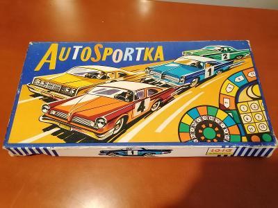 Stará hra - Autosportka - TOFA - krásná