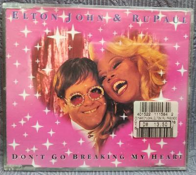 CD - Elton John & RuPaul