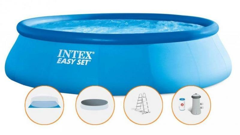 Intex 26166 Easy 457x107 cm SET bazén s filtrací - Zahrada