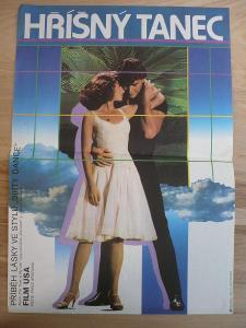Hříšný tanec (filmový plakát, film USA 1987, režie E