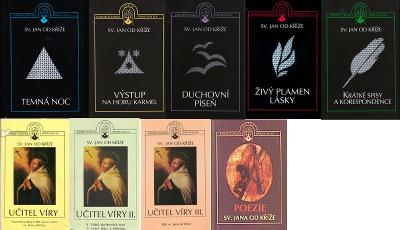 Sv. Jan od Kríže - zbierka kníh | Výstup na horu Karmel, Temná noc atď