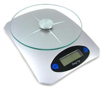 Digitální kuchyňská váha moderní s lcd 5kg/1g 403A