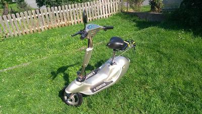 E-scooter 250w/36V renovovaný, nové baterie