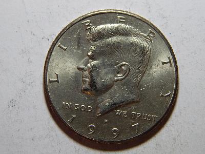USA ½ Dollar 1997 P XF č35380