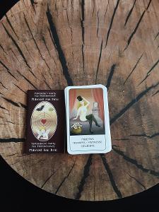 Vykládací karty Ivy Hüttnerové, bez obalu