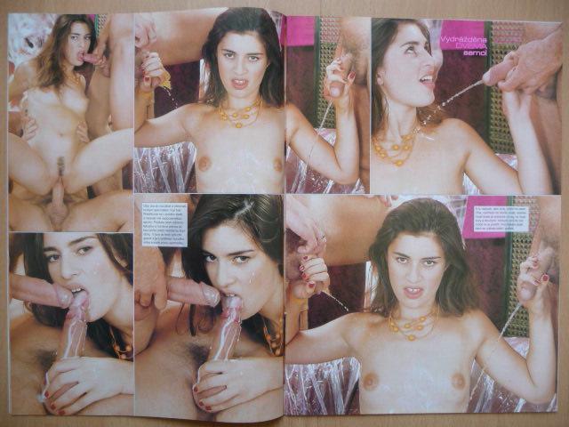 Erotický časopis - EXTÁZE - číslo 1 z roku 2001 - Erotická literatura