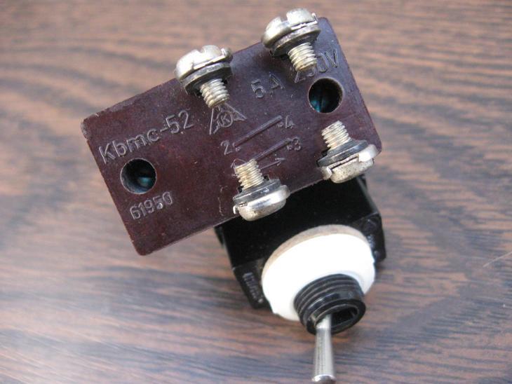 6kusů páčkové přepínače - vypínač, 2 x nepoužitý pro radiostanice aj. - Starožitnosti