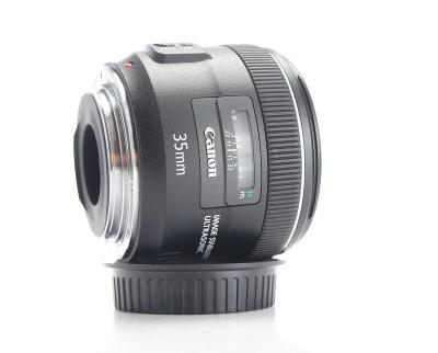 CANON EF 35 mm f/2 IS USM TOP