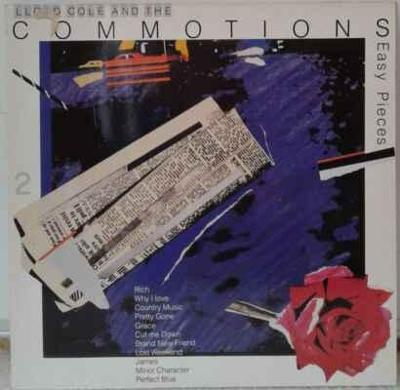 LP Lloyd Cole And The Commotions - Easy Pieces, 1985 EX