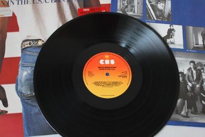 Bruce Springsteen – Born In The U.S.A. LP 1984 vinyl NL 1.press NM