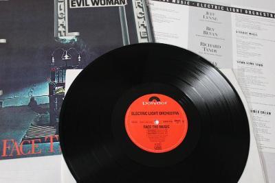 Electric Light Orchestra – Face The Music LP 1975 vinyl jako nove NM