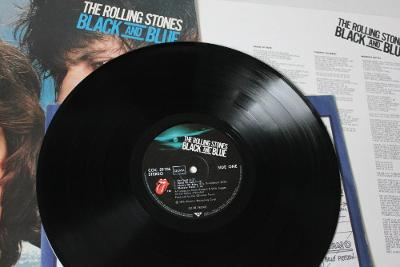 The Rolling Stones – Black And Blue LP 1976 vinyl Germany 1.press NM