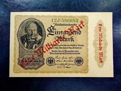 1 Milliarde  Mark 1923 UNC