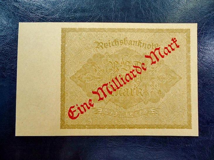 1 Milliarde  Mark 1923 UNC - Bankovky