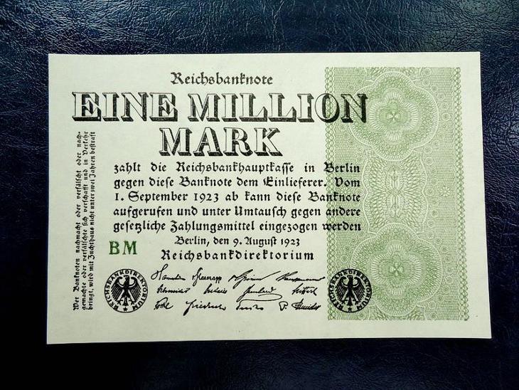 1 million mark 1923 UNC - Bankovky
