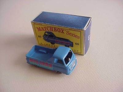 Matchbox RW Nr 60 MORRIS J2 PICK-UP  + krabička