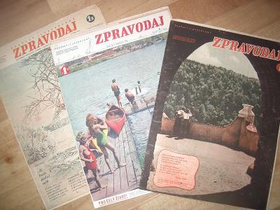 časopisy ZPRAVODAJ 1941-zpravy z fronty,Hitler,waffen ss aj./3/!!!!!