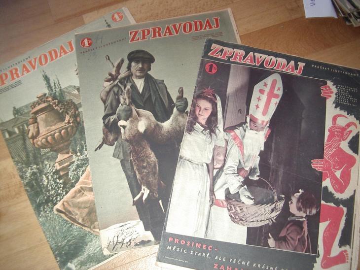 časopisy ZPRAVODAJ 1941-zpravy z fronty,Hitler,waffen ss aj./1/!!!!! - Vojenské