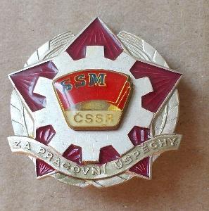 Odznaky SSM  za pracovní úspěchy