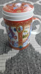 hrneček na bylinkové čaje
