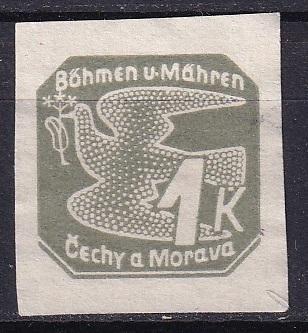 124BMč 1939 * NV 9, Holubice BuM, bez lepu