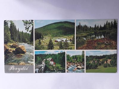 Povydří - (22,0 x 10,5 cm) - pohlednice VF