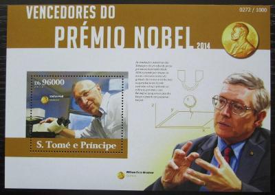 Svatý Tomáš 2015 Nositelé Nobelovy ceny Mi# Block 1108 Kat 10€ 2496