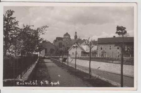 Rožmitál pod Třemšínem, park