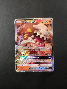 Pokémon karty -Heatran GX