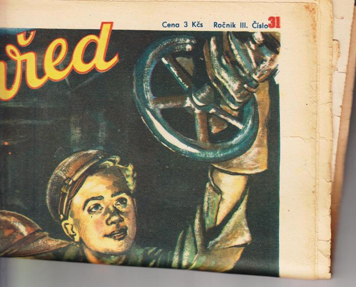 2 časopisy VPŘED - Antikvariát