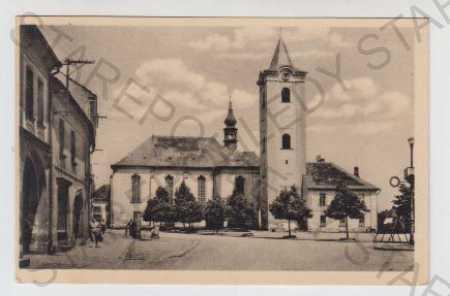 Plzeň - Jih, Dobřany, Náměstí, Kostel