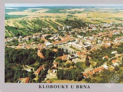 KLOBOUKY U BRNA - POHLED S LETADLA - 3-UX14