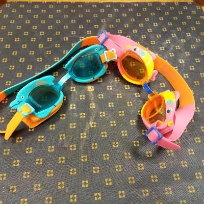 2 X dětské plavecké brýle 6-12 let