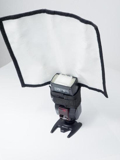Olympus blesk FL-36 + bounce diffuser +rozptylka - Foto