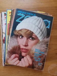 Praktická žena - kompletní ročník 1977 - včetně střihových příloh !!!