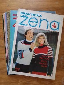Praktická žena - kompletní ročník 1978 - včetně  střihových  příloh !