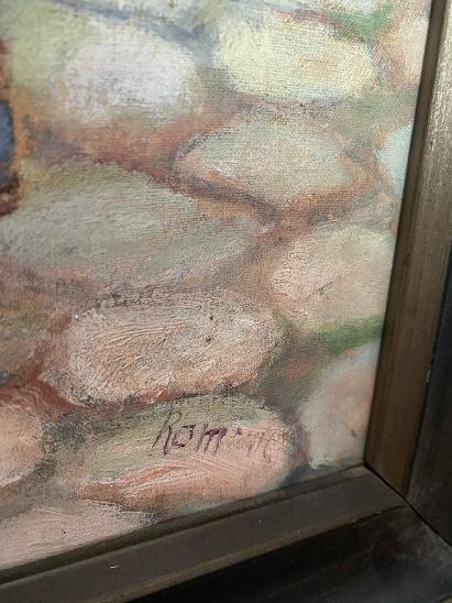 """Obraz """"STARÝ MUŽ   """"  sign. - Umění"""